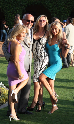 Is this the lifestyle of a Thoroughbred owner? At Del Mar it is.